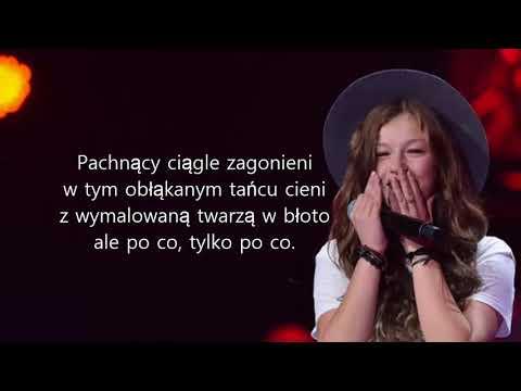 """Zuzia Jabłońska ,,Sami"""" Karaoke"""