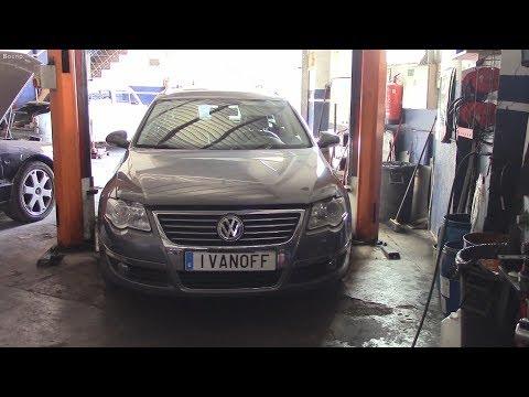 Ремонт автомобиля VW Passat 2,0   2006  двигатель  BKP  заглох на ходу, ошибки P3008  P0341 +  покуп