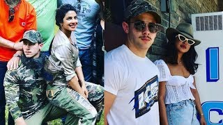 Priyanka Chopra and Nick Jonas look so happy enjoying their vacation with eachother