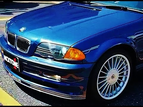 bmw alpina b3 3 3 saloon e46 quick look youtube. Black Bedroom Furniture Sets. Home Design Ideas