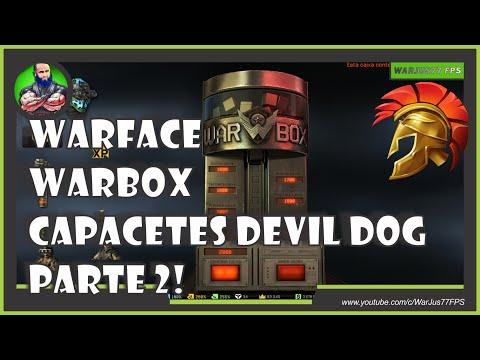 WARFACE - WARBOX CAPACETES DEVIL DOG PARTE 2!