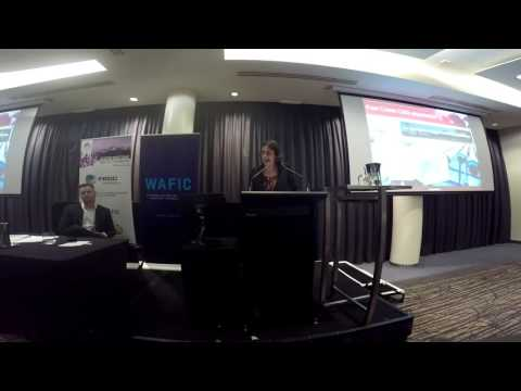 Seafood Directions 2015 - Michelle Andrews (Dept.  Mines And Petroleum WA)