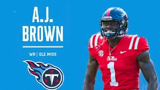 """AJ Brown - Welcome To the Tennessee Titans // """"Old Town Road"""" ᴴᴰ 