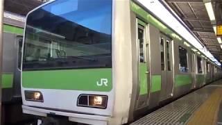 JR山手線E231系東トウ552編成新宿駅発車