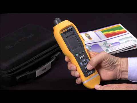 How To Measure Vibration With The Fluke 805 Vibration Meter
