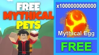 HOW TO GET FREE MYTHICAL PETS | Roblox Mining Simulator