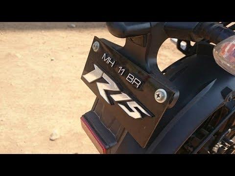 Bike Number Plate Bike Number Plate Design India Youtube