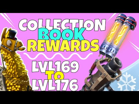 Fortnite COLLECTION Book Legendary Llama Reward! Lvl 169-176 | Fortnite Save The World
