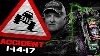 Download Grave Digger FLIP ACCIDENT - Tampa, FL - January 14, 2017 Mp3 and Videos
