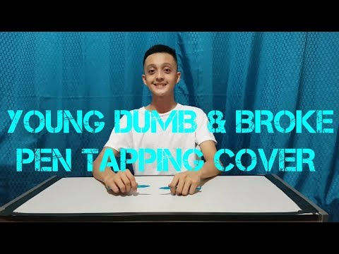 Young Dumb & Broke - Khalid (pen tapping cover)