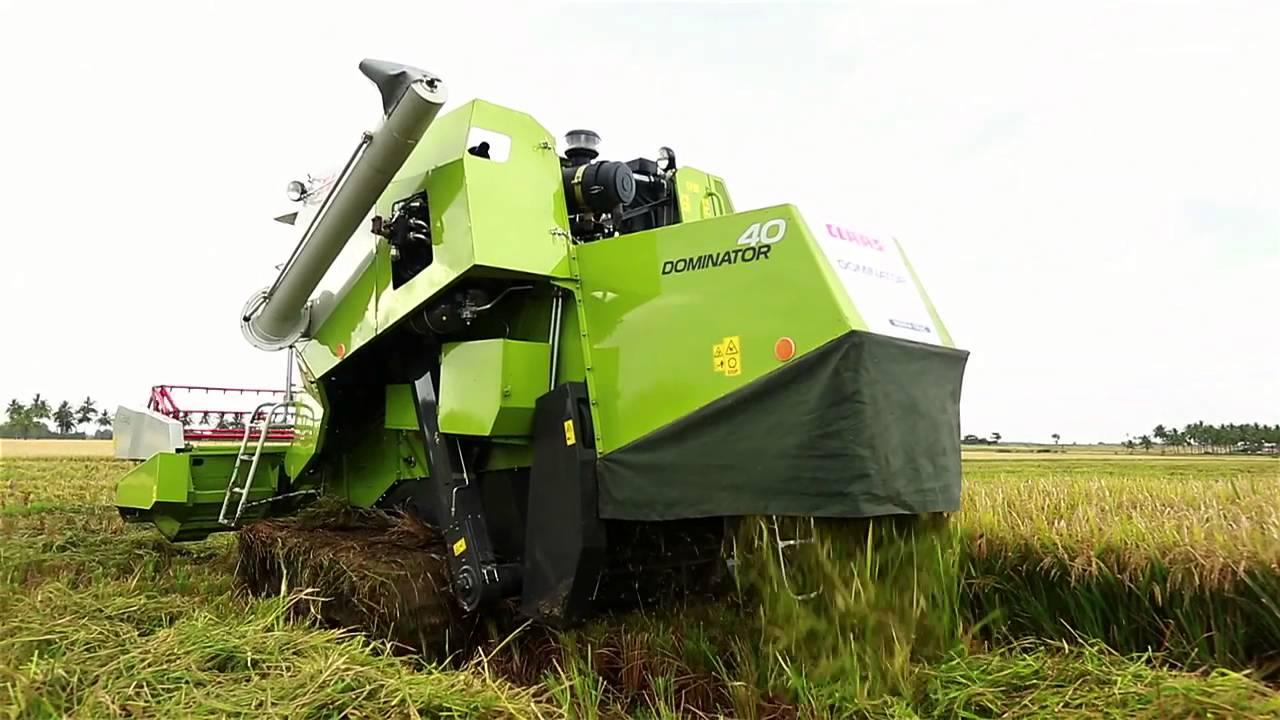 CLASS DOMINATOR 40 TERRA TRAC Combine Harvester Price Specs