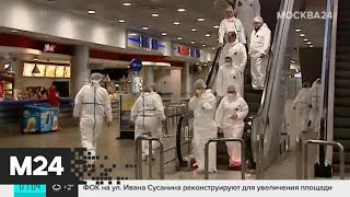 В Шереметьево проверяют всех прилетевших из зараженных коронавирусом стран пассажиров - Москва 24