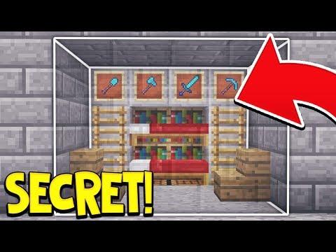 15 EASY WAYS TO MAKE A SECRET BASE IN MINECRAFT!