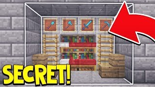 15 EASY WAYS TO MAKE A SECRET BASE IN MINECRAFT!