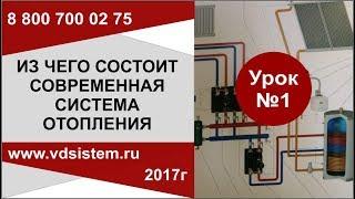 Урок №1  Из чего состоит современная система отопления.  от www.vdsistem.ru