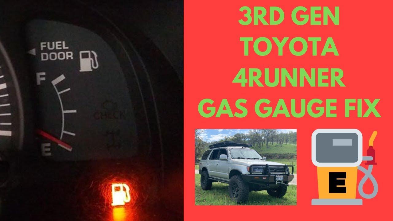 Toyota 4runner Gas Fuel Gauge Fix Youtube
