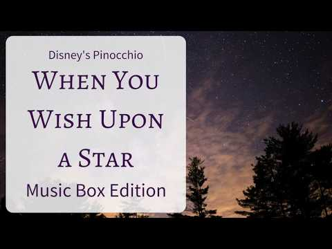 Walt Disney's Pinocchio: When You Wish Upon A Star [Music Box Edition]