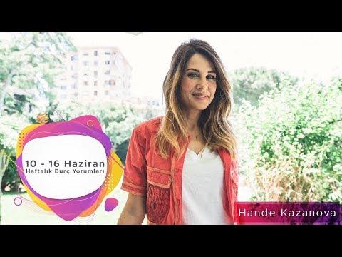 10 - 16 Haziran Haftalık Burç Yorumları - Hande Kazanova ile Astroloji
