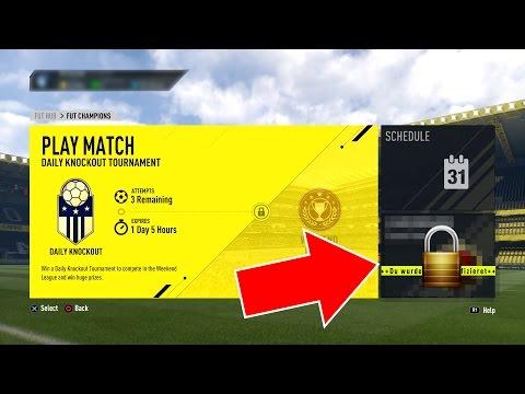 GUCK DIR DAS AN BEVOR DU FUT CHAMPIONS SPIELST!! FIFA 17  FUT CHAMPIONS (DEUTSCH)