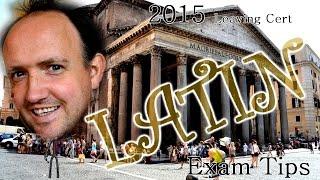 2015 Latin Predictions [Episode #10 - Sanctus spiritus predictum obligatus] (Leaving Cert 2015)