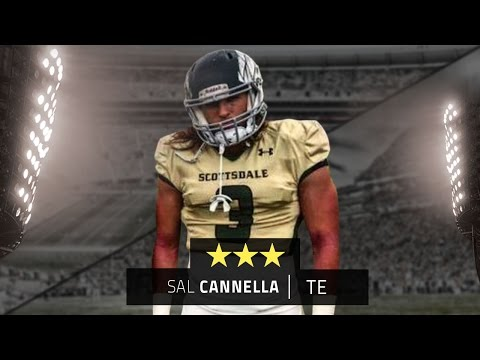 JUCO tight end Sal Cannella highlights