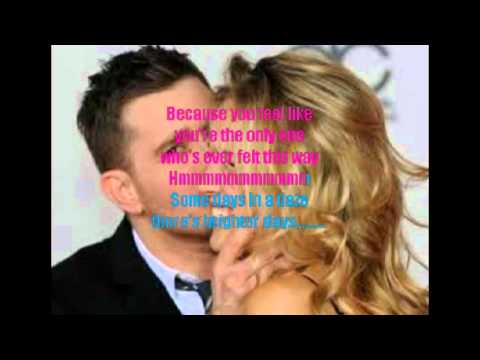 End of May  Michael Buble karaoke with lyrics
