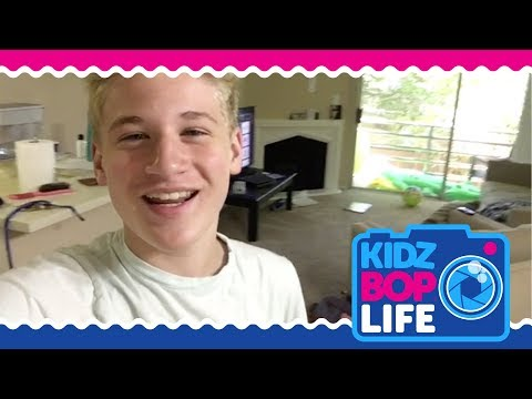 KIDZ BOP Life: Vlog # 24 - Beach Day with Cooper