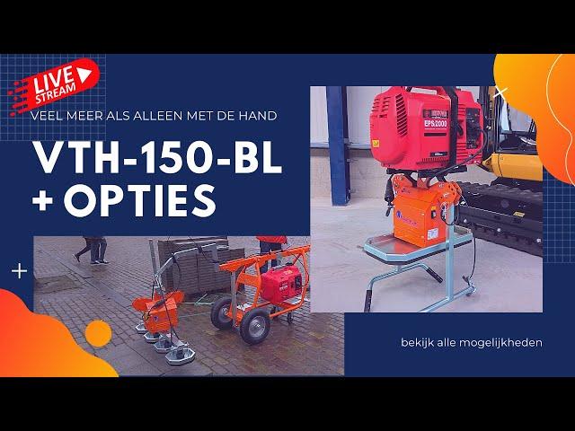 VTH-150-BL Niet alleen met de hand