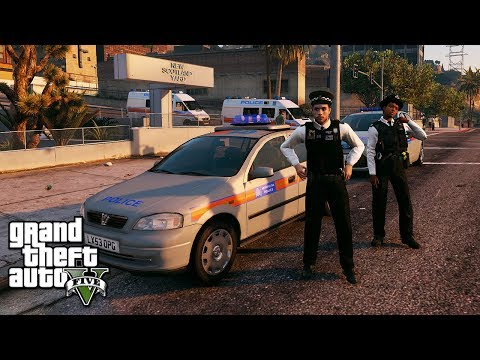 GTA 5 MODS UK POLICE | SCOTLAND YARD SIMULATOR! | LSPDFR: THE BRITISH WAY  #190