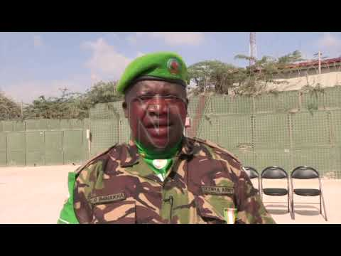 AMISOM Officers Commended For Their Work In Mogadishu