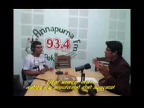 Radio Annapurna, Pokhara L 2nd  Interview L Basu Acharya