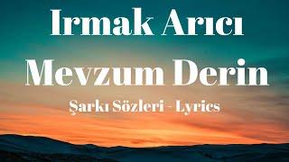 Mevzum Derin (Şarkı Sözleri) Lyrics -  Irmak Arıcı