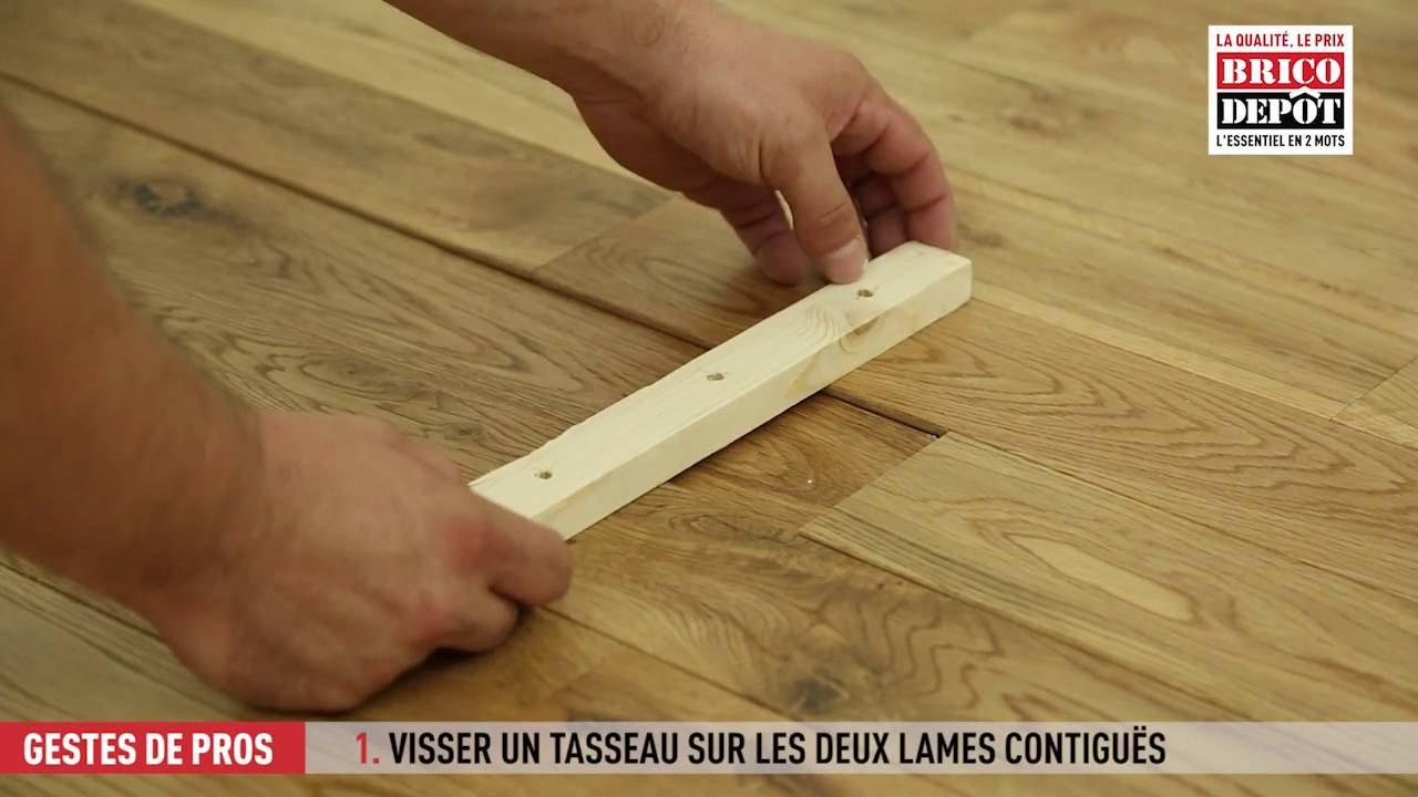 Comment Réparer Une Lame De Plancher Qui S Enfonce