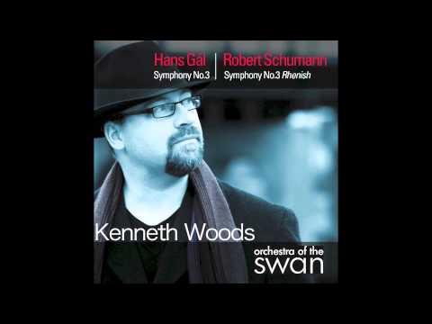 Hans Gál- Symphony 3  Mvt II, Kenneth Woods, Orchestra of the Swan