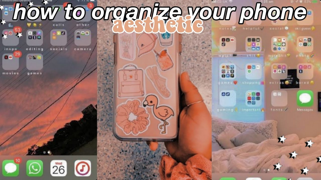how to have an aesthetic phone organization contacts and wallpaper youtube how to have an aesthetic phone organization contacts and wallpaper