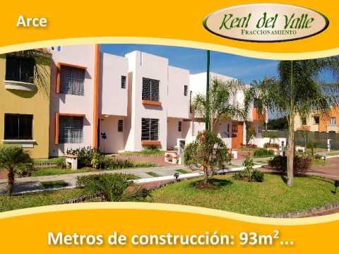 Real del valle modelos de casas youtube - Casas montornes del valles ...