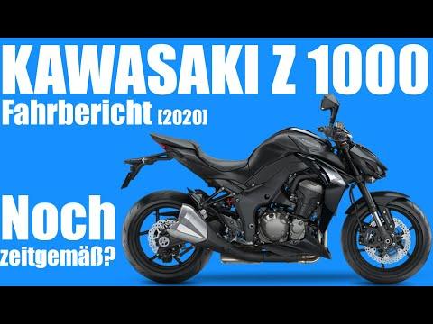 Kawasaki Z1000 Fahrbericht. Ist sie noch zeitgemäß? [Modell 2020] Motovlog