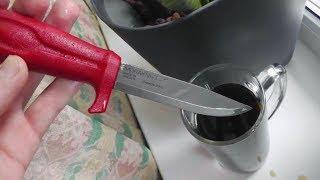 Воронение ножей в домашних условиях  (в кока-коле)(Воронение ножей в домашних условиях (в кока-коле) или как защитить ножи Mora от коррозии - Мой метод. Скидка..., 2014-02-14T20:02:03.000Z)
