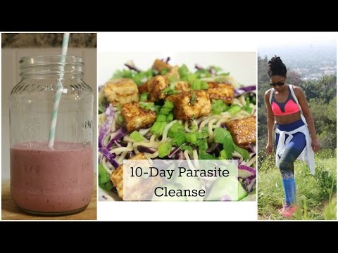 Parasite Detox and What I Ate | The Divine Hostess - YouTube