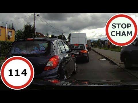 Stop Cham #114 – Niebezpieczne i chamskie sytuacje na drogach