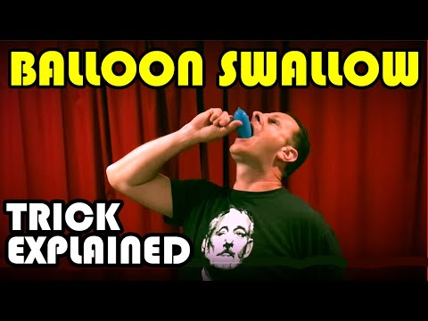 Balloon Swallow Trick Explained