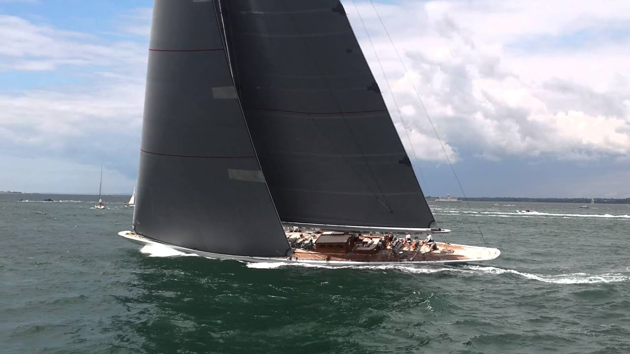 J Yacht Ranger Solent Racing YouTube