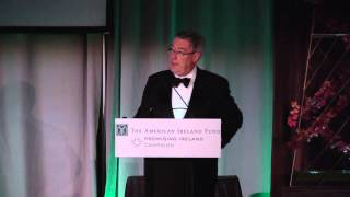 Kieran McLoughlin at The American Ireland Fund 2013 New York Dinner Gala