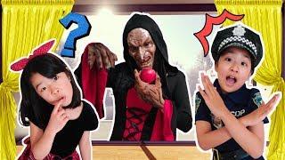 할로윈 파티 마녀가 나타났다 신비아파트 아엘튜브 Pretend Play Kids Halloween police officer AelTube