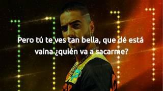 Maluma ft. Nicky Jam - No Puedo Olvidarte - Letra/Lyrics Oficial
