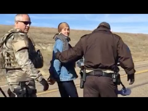 Shailene Woodley Arrested During Pipeline Protest VIDEO