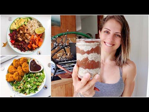RECETTES VÉGÉ GOURMANDES & HEALTHY ** MEAL PREP ** Une journée dans mon assiette #48