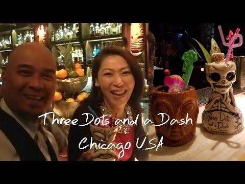 Three Dots And A Dash ~ A Speakeasy Tiki Bar In Chicago | พาเที่ยวบาร์ชื่อดังในชิคาโก้!