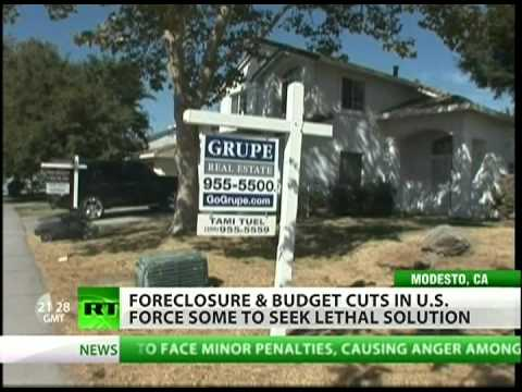Home foreclosures drive Americans to suicide?