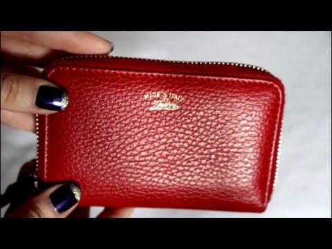 b0f3230d27d Wear   Tear - Gucci Swing Zip Around Card Case. Purse Demented